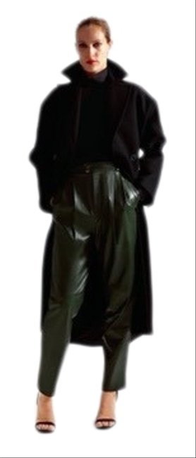 Item - Limited Edition Black Wool Blend Oversized Coat Size 4 (S)