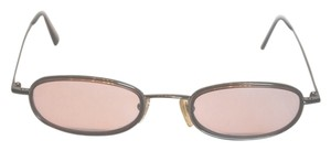 Byblos Byblos 670 3280 Women's Petite Round Rose Colored Sunglasses