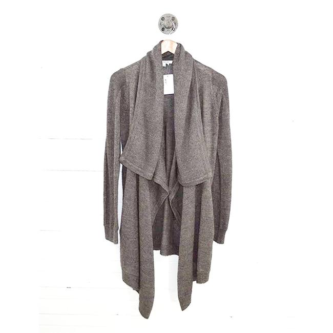 Item - Grey Open Front #187-26 Cardigan Size 4 (S)
