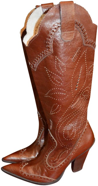 Item - Camel Western Boots/Booties Size US 6.5 Regular (M, B)