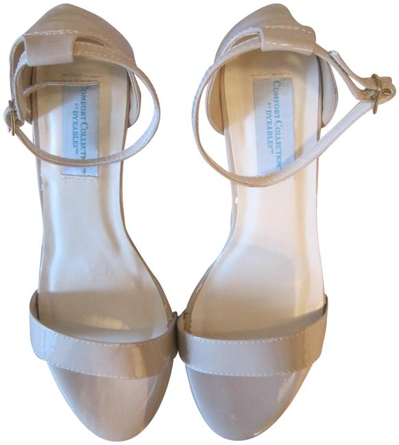 Item - Nude Comfort Collection By Dyeables Maddox Patent Heels Sandals Size US 9.5 Regular (M, B)