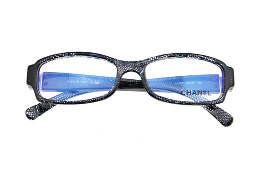Chanel Chanel CH3165 c.1124 52mm Lace Rectangular Eyeglasses RX Frames Italy Image 2
