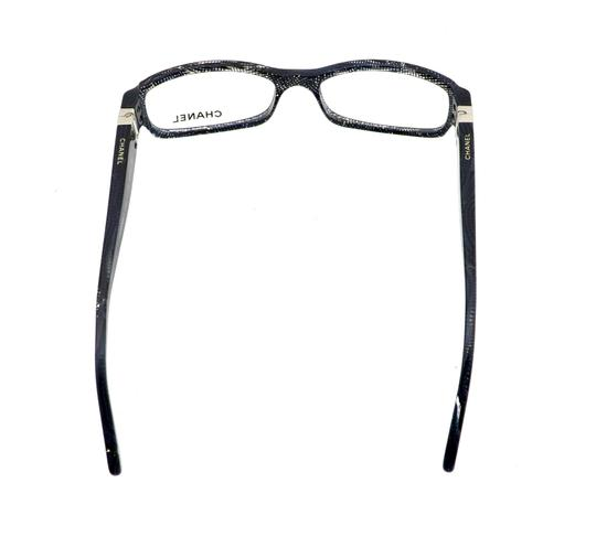 Chanel Chanel CH3165 c.1124 52mm Lace Rectangular Eyeglasses RX Frames Italy Image 6
