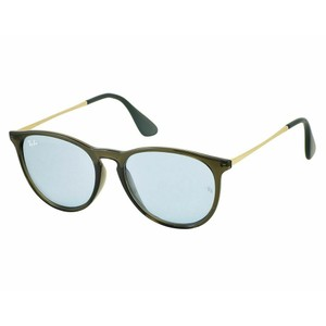 Ray-Ban Light Blue Mirrored Lens RB4171F 6340/F7 57 Erika Square Unisex