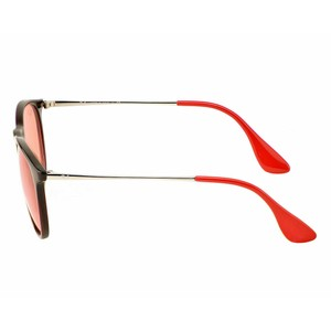 Ray-Ban Red Mirrored Lens RB4171F 6339D0 57 Erika Pilot Unisex