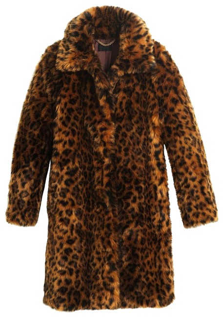 Item - Leopard XL Collection Faux-fur Print G9553 Coat Size 16 (XL, Plus 0x)