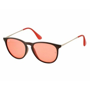Ray-Ban Red Mirrored Lens RB4171 6339/D0 54 Erika Pilot Unisex