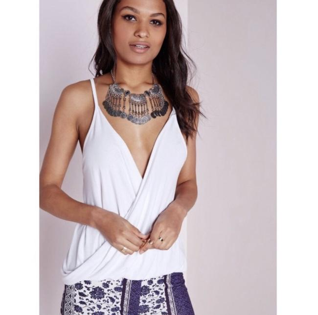 Missguided Top white Image 3