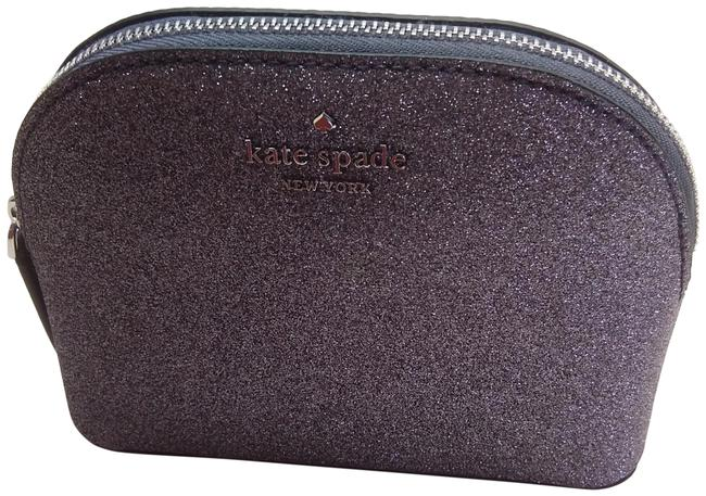 Item - Silver New Sparkly Small Dome Cosmetic Bag