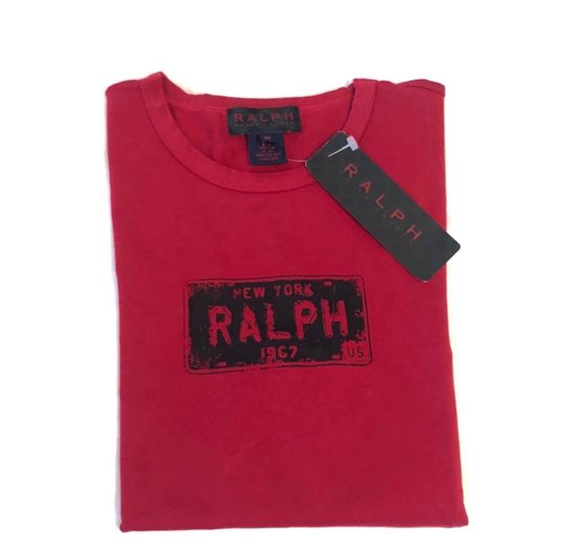 Item - Red Long Sleeve Tee Shirt Size 8 (M)