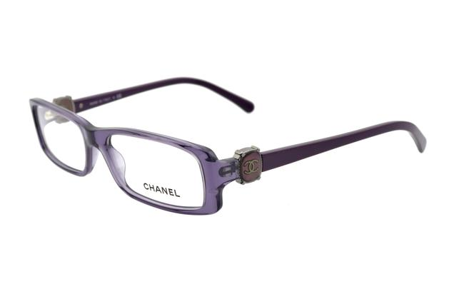 Item - Purple Ch3183 C.1121 53mm Rectangular Eyeglasses Rx Frames Italy