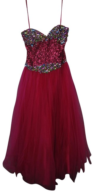 Item - Pink 5794/ Flirt Long Formal Dress Size 16 (XL, Plus 0x)
