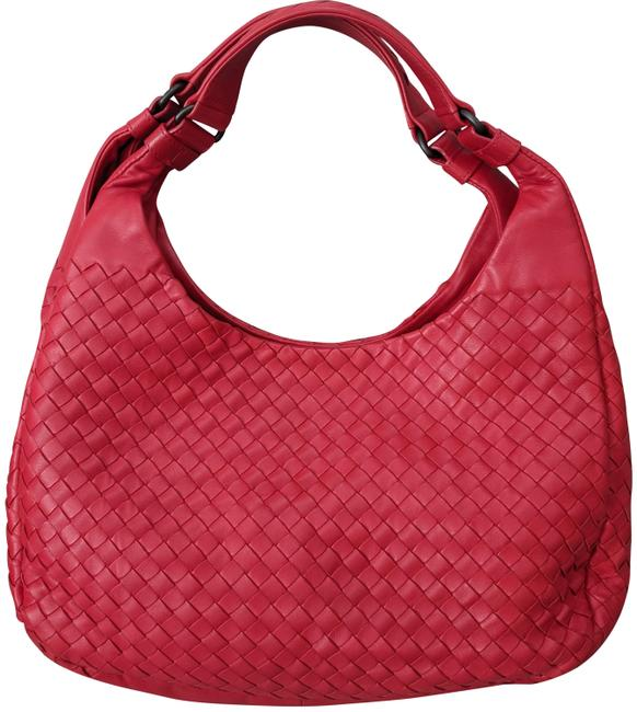 Item - Large Campana Red Woven Napa Leather Hobo Bag