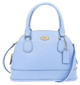 Coach Satchel in Imperial Blue