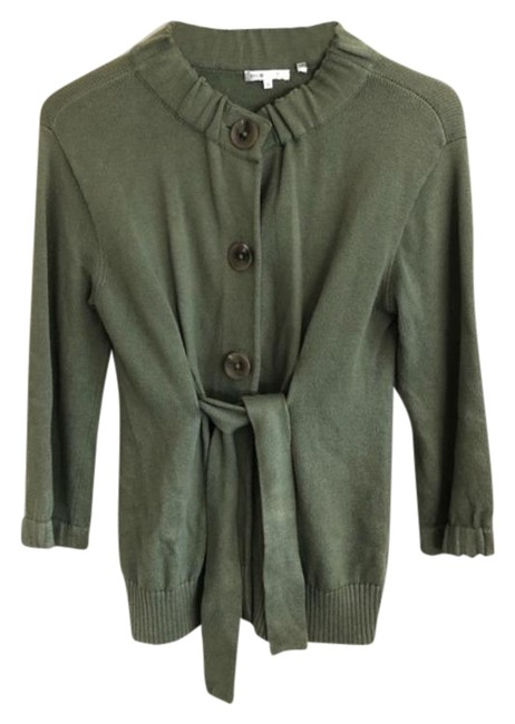 Preload https://img-static.tradesy.com/item/26362350/vince-cashmere-blend-button-front-cardigan-green-sweater-0-2-650-650.jpg