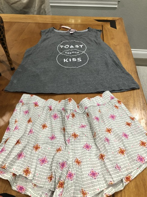 Victoria Secret Top Pink and gray multi Image 1