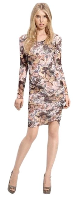 Preload https://img-static.tradesy.com/item/26362374/elizabeth-and-james-multi-color-gosling-printed-mesh-mid-length-short-casual-dress-size-4-s-0-2-650-650.jpg