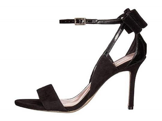 Kate Spade Suede Patent Leather Black Sandals Image 2