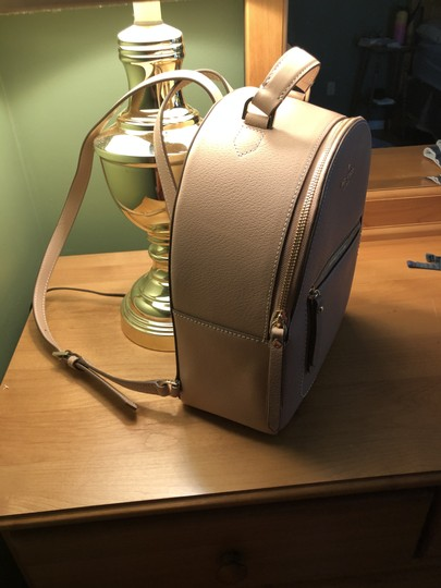 Preload https://item2.tradesy.com/images/kate-spade-flapper-tan-pebble-leather-backpack-26362471-0-0.jpg?width=440&height=440
