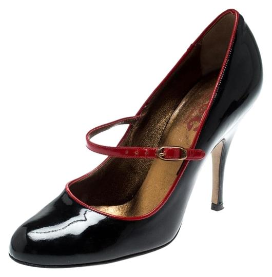 Dolce&Gabbana Patent Leather Mary Jane Black Pumps Image 0