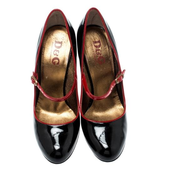 Dolce&Gabbana Patent Leather Mary Jane Black Pumps Image 1