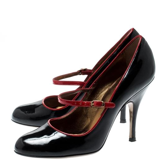 Dolce&Gabbana Patent Leather Mary Jane Black Pumps Image 6