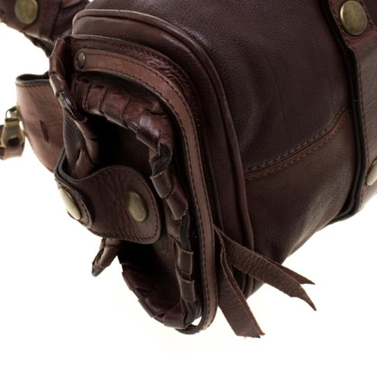 Chloé Leather Satchel in Brown Image 6