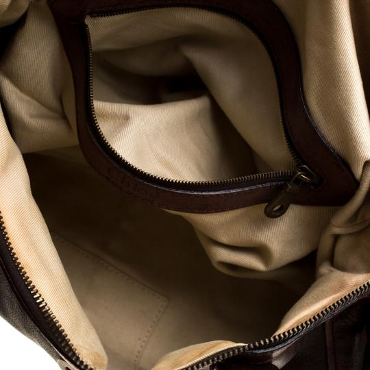 Chloé Leather Satchel in Brown Image 8
