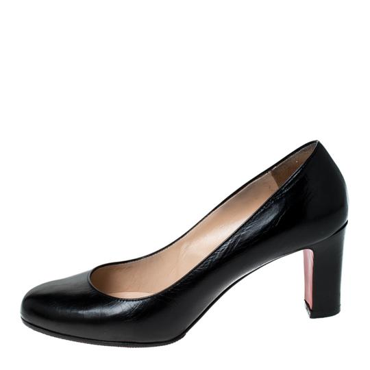 Christian Louboutin Leather Black Pumps Image 1