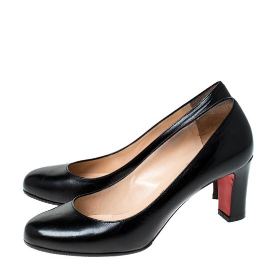 Christian Louboutin Leather Black Pumps Image 3