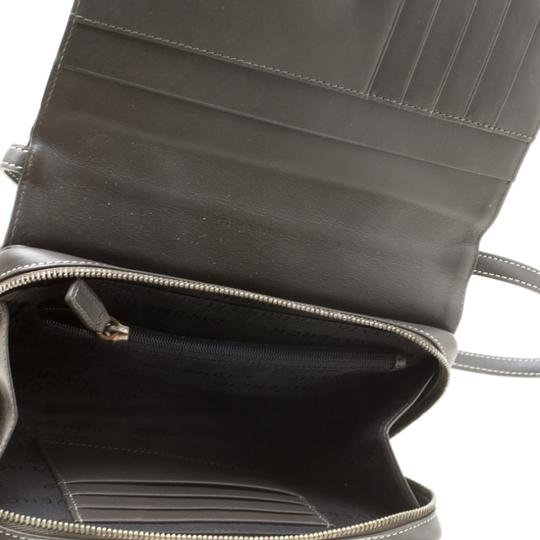 Givenchy Nylon Leather Grey Clutch Image 9