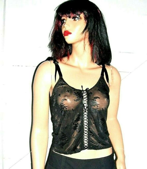 Rampage Lace Camisole Top black Image 2
