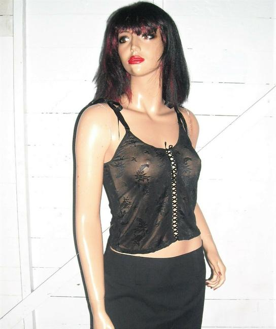 Rampage Lace Camisole Top black Image 3