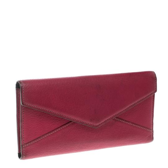 Cartier Cartier Pink Leather Les Must Envelope Trifold Wallet Image 2