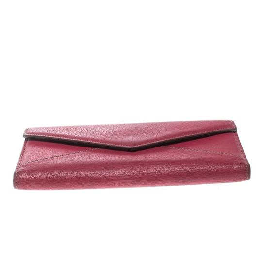 Cartier Cartier Pink Leather Les Must Envelope Trifold Wallet Image 3