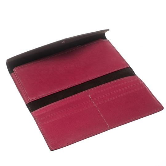 Cartier Cartier Pink Leather Les Must Envelope Trifold Wallet Image 6