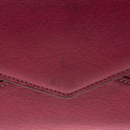 Cartier Cartier Pink Leather Les Must Envelope Trifold Wallet Image 8