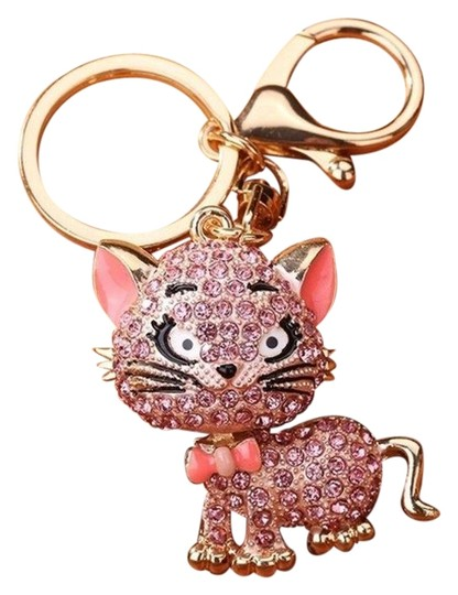 Preload https://img-static.tradesy.com/item/26362771/lovely-crystal-cat-key-chain-0-2-540-540.jpg