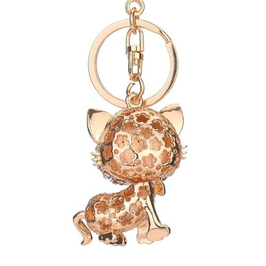 Other Lovely Crystal Cat Key Chain Image 3
