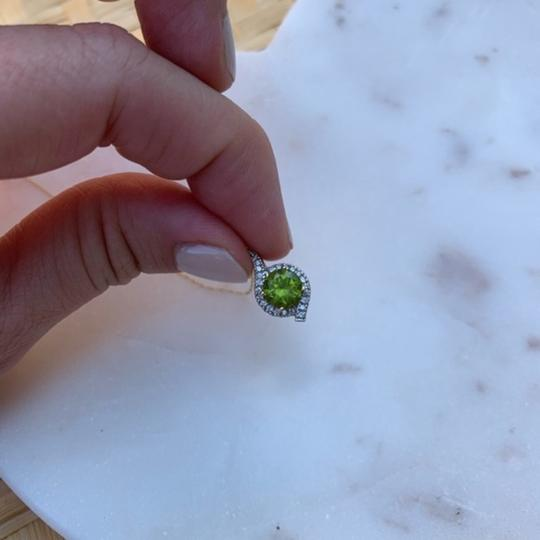 Other Peridot and Diamond Pendant in Yellow Gold Image 3