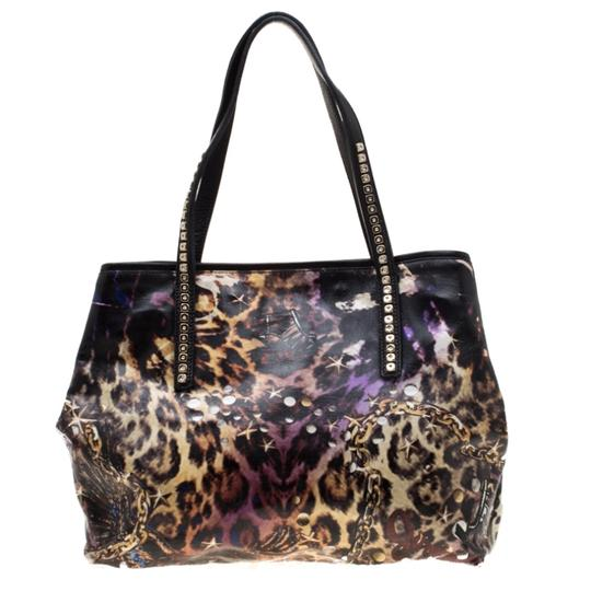 Jimmy Choo Canvas Scarlet Tote in Multicolor Image 1