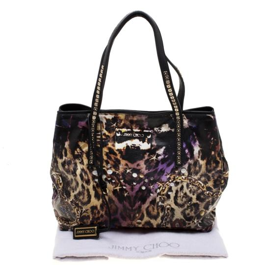 Jimmy Choo Canvas Scarlet Tote in Multicolor Image 11