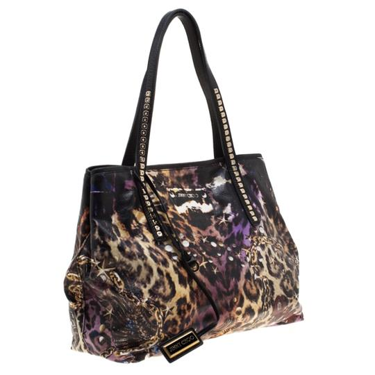 Jimmy Choo Canvas Scarlet Tote in Multicolor Image 3