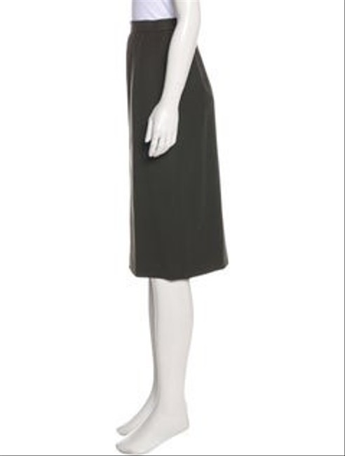Escada Wool Pencil Neutral Color Skirt olive green Image 1