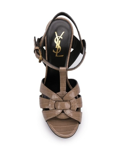 Saint Laurent Brown Sandals Image 3