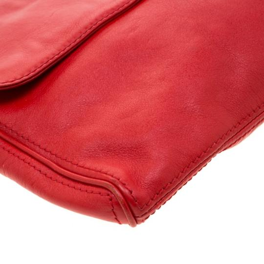 Carolina Herrera Leather Shoulder Bag Image 6