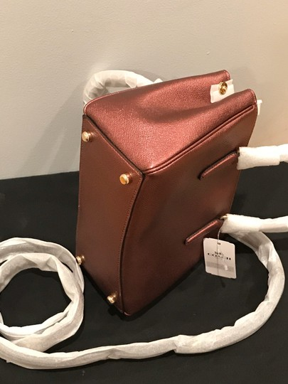 Coach Satchel in Metallic brown Image 2
