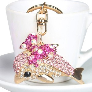 Other Dolphin and Butterfly Crystal Key Ring