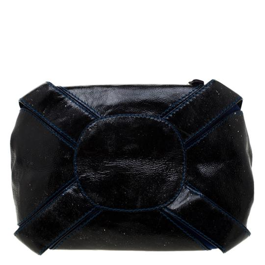 Jimmy Choo Leather Suede Tote in Black Image 4