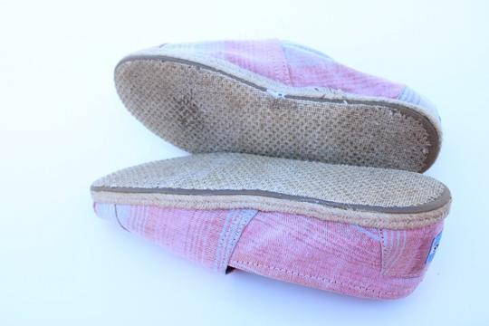 TOMS red, blue, white Flats Image 7